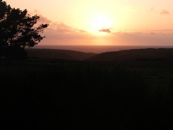 coucher du soleil sur Bedex