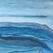 calme bleu  | série HORIZON