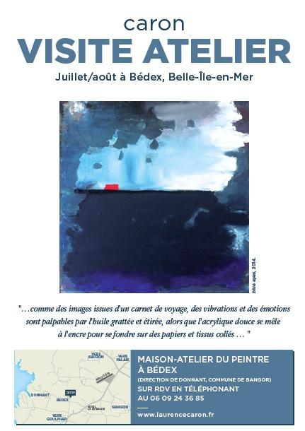 Laurence Caron expose à Belle-Ile-en-mer